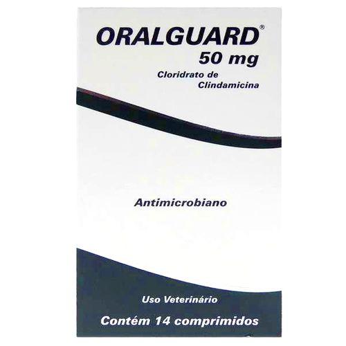 ORALGUARD 50 mg COM 14 COMPRIMIDOS