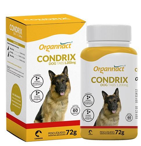 ORGANNACT CONDRIX DOG TABS 1200 mg COM 60 COMPRIMIDOS