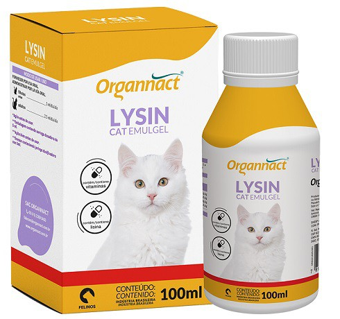 ORGANNACT LYSIN CAT EMULGEL 100 ml