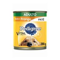 PEDIGREE LATA FRANGO PATÊ 280 g
