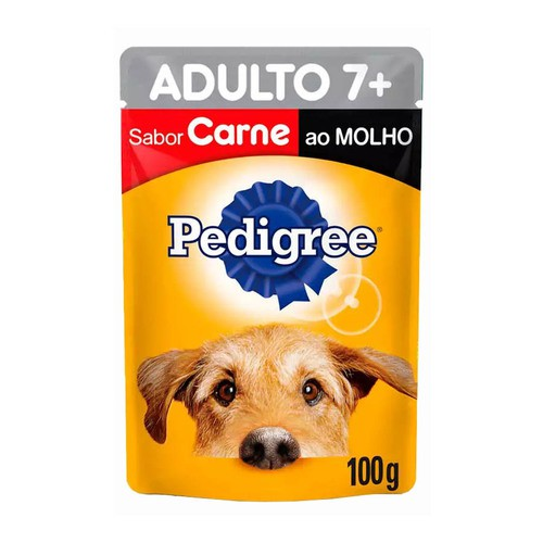 PEDIGREE SACHÊ 7+ CARNE 100 g