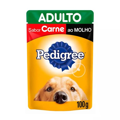 PEDIGREE SACHÊ CARNE AO MOLHO 100 g