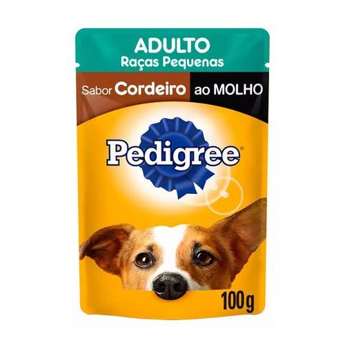 PEDIGREE SACHÊ CORDEIRO RAÇAS PEQUENAS 100 g