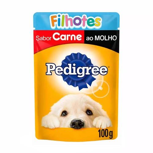 PEDIGREE SACHÊ FILHOTES CARNE 100 g