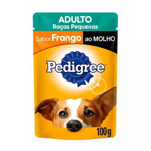 PEDIGREE SACHÊ FRANGO RAÇAS PEQUENAS 100 g