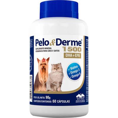 PELO & DERME 1500 C/ 60 CÁPSULAS