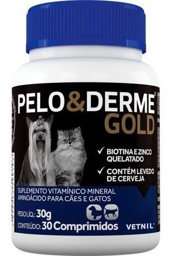PELO & DERME GOLD 30 COMPRIMIDOS