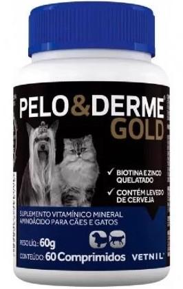 PELO & DERME GOLD 60 COMPRIMIDOS