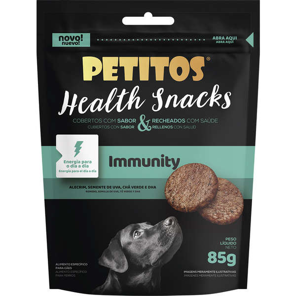 PETITOS HEALTH SNACKS IMMUNITY 85g