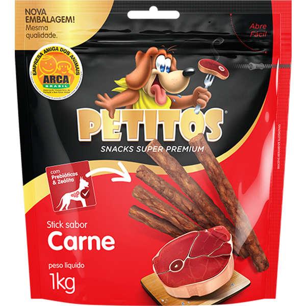 PETITOS PALITO CARNE 1Kg