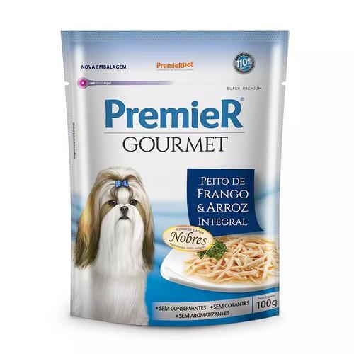 PREMIER GOURMET SACHÊ CÃES ADULTOS FRANGO 100 g