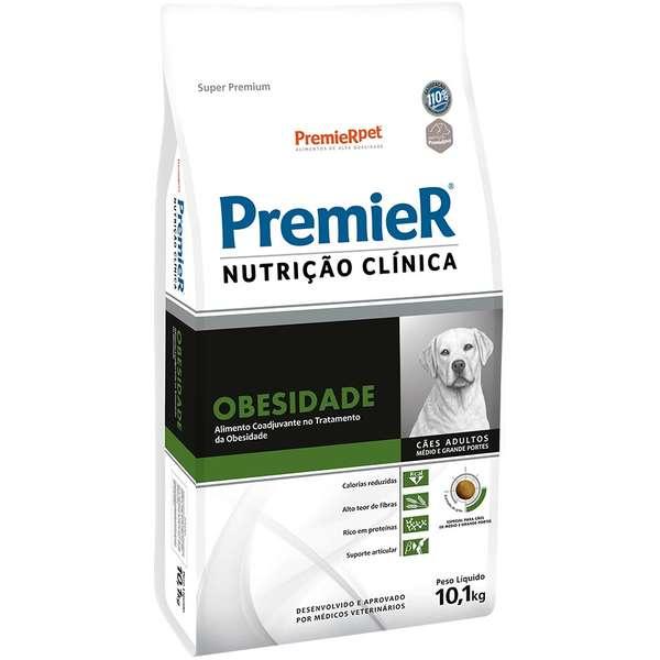 PREMIER NUTRIÇÃO CÃES OBESIDADE MÉDIO/GRANDE 10,1 Kg