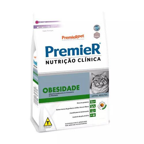PREMIER NUTRIÇÃO GATOS OBESIDADE