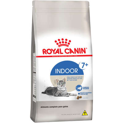 ROYAL CANIN CAT INDOOR 7+ANOS
