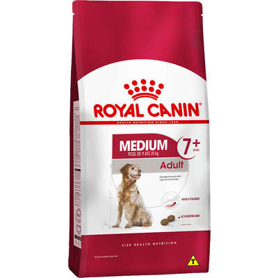 ROYAL CANIN MEDIUM ADULTO 7+ANOS 15Kg