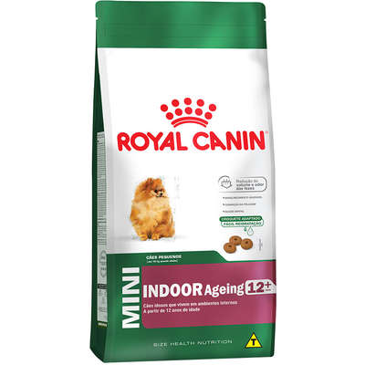 ROYAL CANIN MINI INDOOR AGEING 12+ ANOS