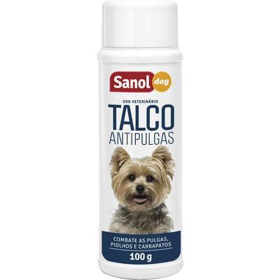 SANOL DOG TALCO ANTIPULGAS 100g