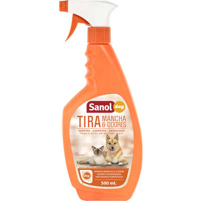 SANOL DOG TIRA MANCHAS & ODORES 500mL