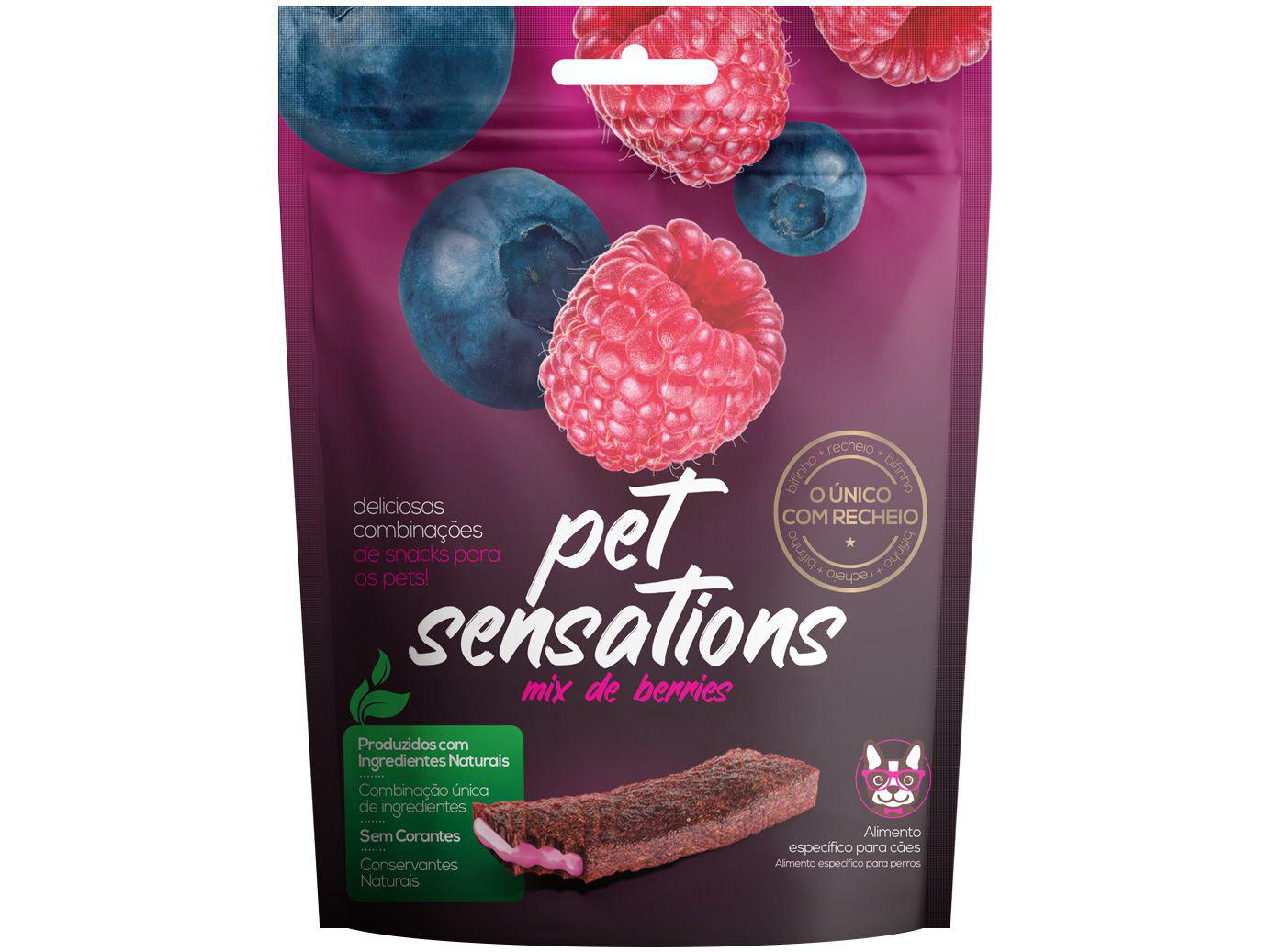 SENSATIONS MIX DE BERRIES 65g