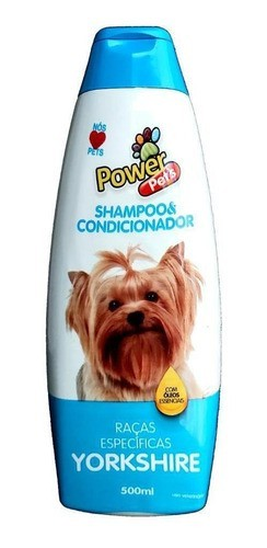 SHAMPOO POWER PETS YORKSHIRE 500ML