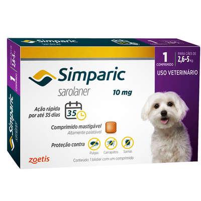 SIMPARIC 10 mg 1 COMPRIMIDO (2,6 a 5 Kg)