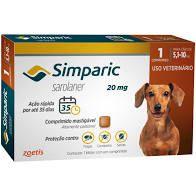 SIMPARIC 20 mg 1 COMPRIMIDO (5,1 a)