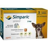 SIMPARIC 5 mg 3 COMPRIMIDOS (1,3 a 2,5 Kg)