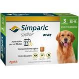 SIMPARIC 80 mg 3 COMPRIMIDOS (20,1 a 40 Kg)