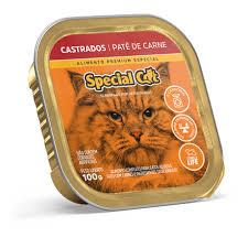 SPECIAL CAT PATE CASTRADO CARNE 100 g
