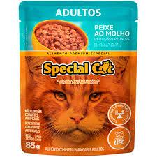 SPECIAL CAT SACHE ADULTO PEIXE 85 g