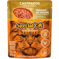 SPECIAL CAT SACHE CASTRADO FRANGO 85 g