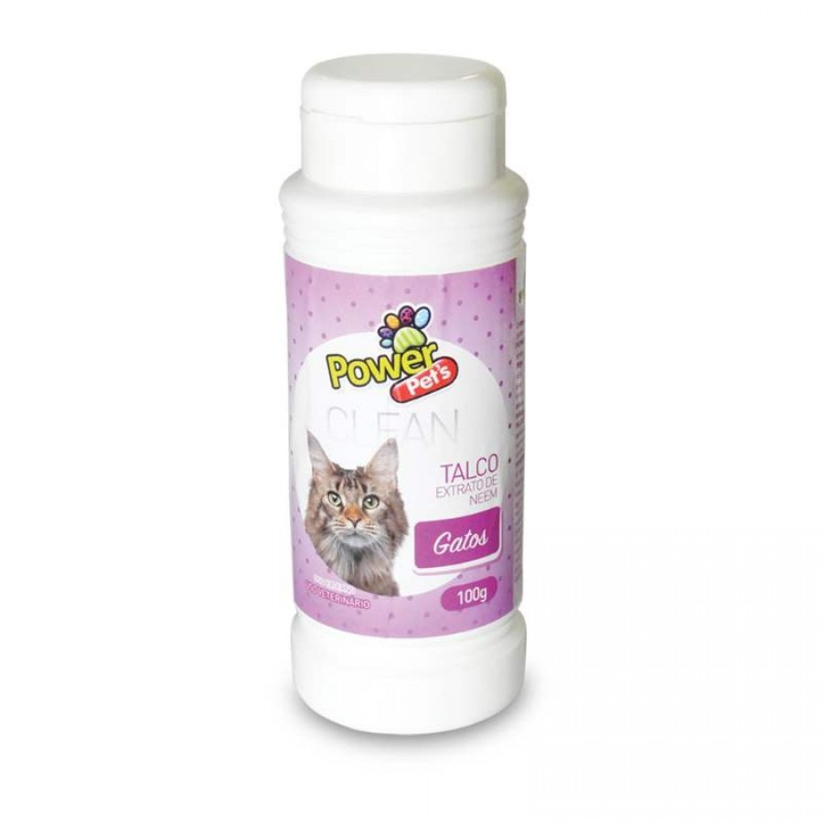 TALCO P/GATOS POWERPETS 100G