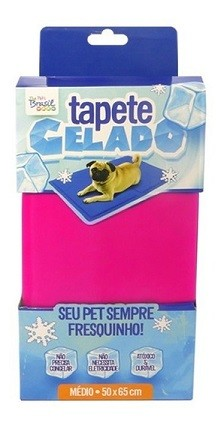 TAPETE GELADO THE ICE PAD 50 x 65cm MÉDIO ROSA