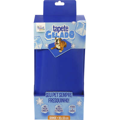 TAPETE GELADO THE ICE PAD 90 x 50cm GRANDE AZUL