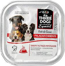 THREE DOGS PATÊ PALADAR EXIGENTE 150 g