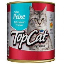 TOP CAT LATA PEIXE 290 g