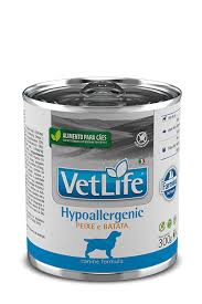 VET LIFE CANINE WET HYPOALLERGENIC PEIXE 300 g