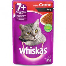 WHISKAS SACHÊ 7+ JELLY CARNE 85 g