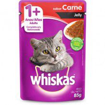 WHISKAS SACHÊ JELLY CARNE 85 g