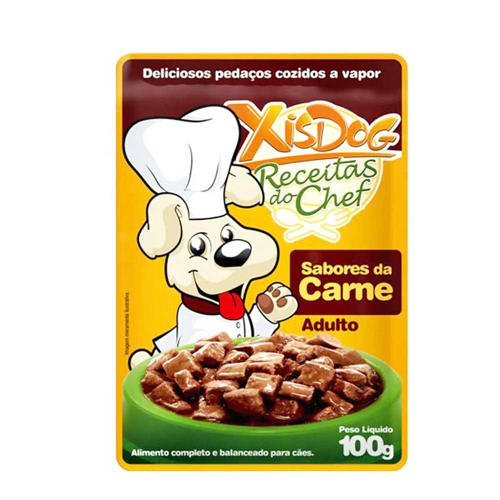 XISDOG SACHÊ SABORES DA CARNE 100 g