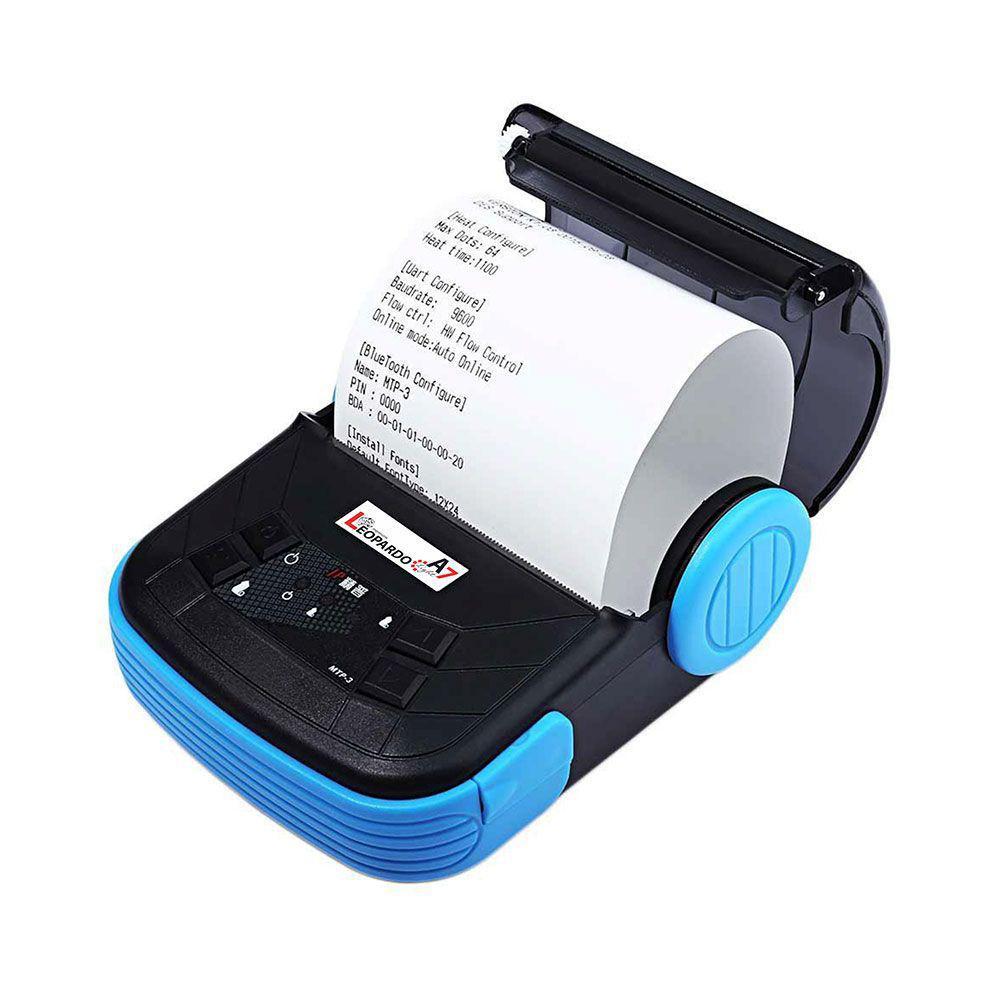 Impressora Térmica Portátil Leopardo A7 Light