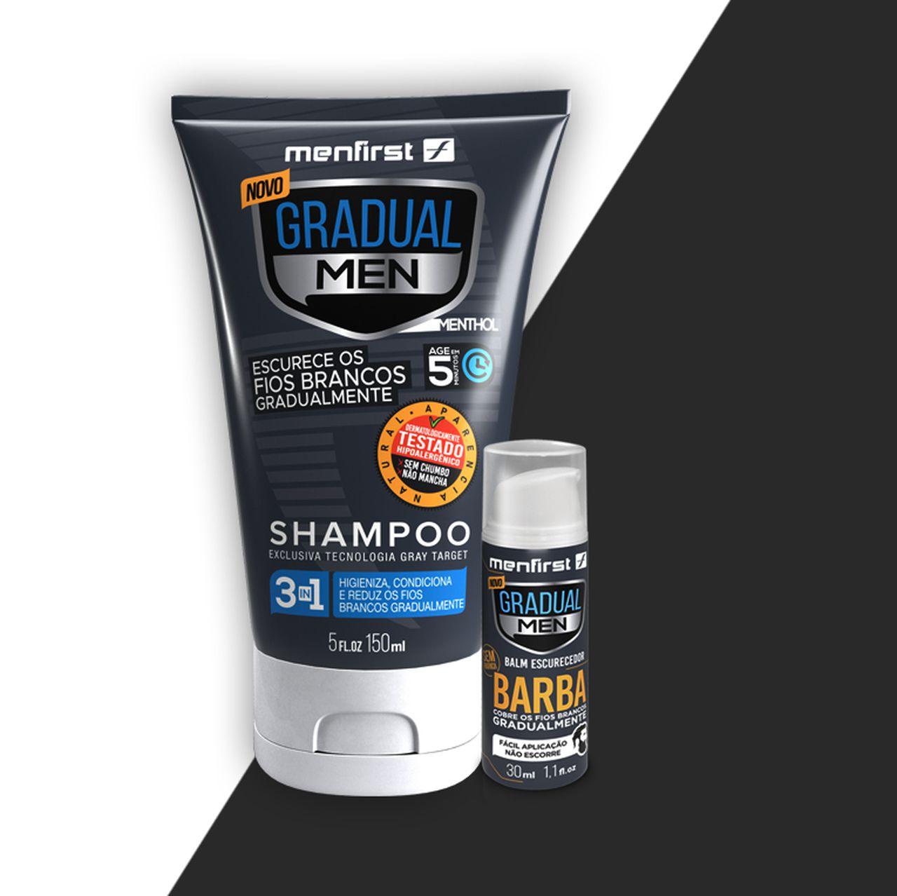 Shampoo Cabelo & Balm (Combo)