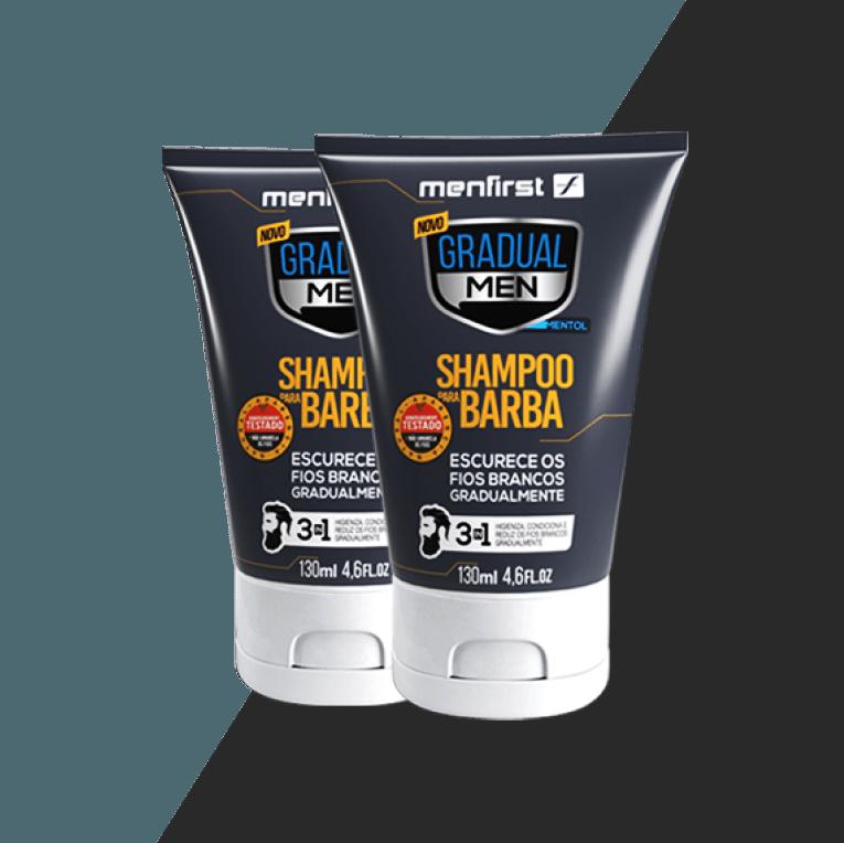 Shampoo Gradual Men Barba (2x)