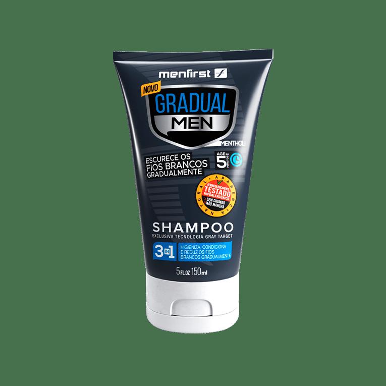 Shampoo Gradual Men Cabelo