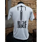 CAMISETA BRANCA - RIDE BIKE