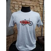CAMISETA MESCLA CLARO - SURF BIKE