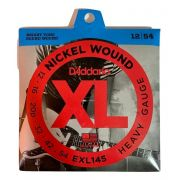 Encordoamento Guitarra Daddario 012 EXL145