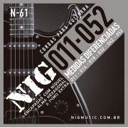 Encordoamento Guitarra Nig 011 N61
