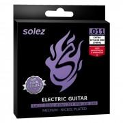 Encordoamento Guitarra Solez 011 SLG11