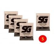 Encordoamento Violão Nylon SG Tensao Leve 6681 Kit c/ 5